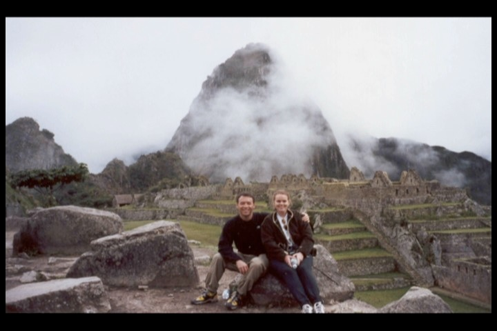 In front of Huayna Picchu. Photo from:  Ken Kilgore