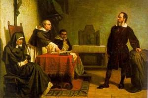 Galileo facing the Roman Inquisition, by Cristiano Banti (1857)