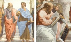 Pythagoras and Aristotle